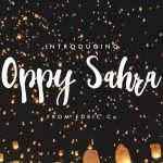 Oppy Sahra Script Font