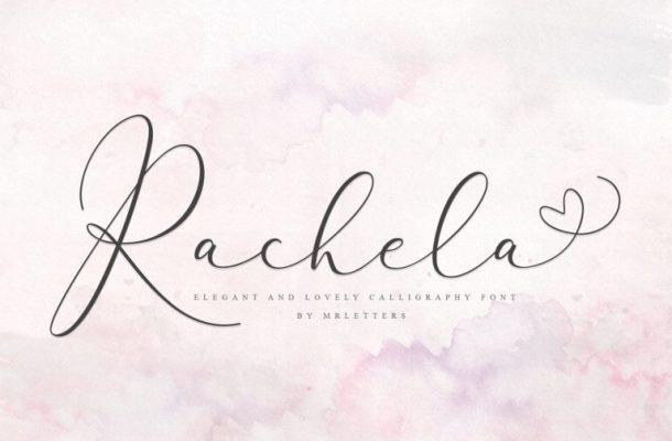 Rachela Script Font