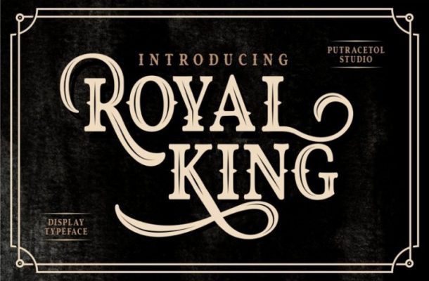 Royal King Typeface