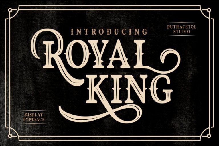 Royal King Typeface