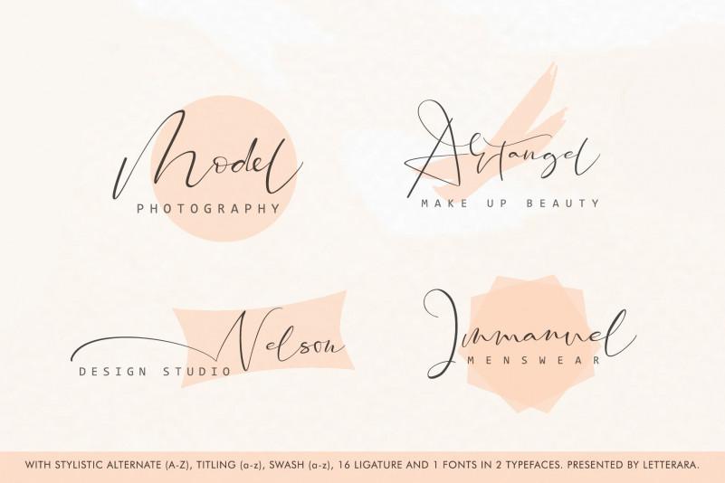 Santeria Calligraphy Font-2
