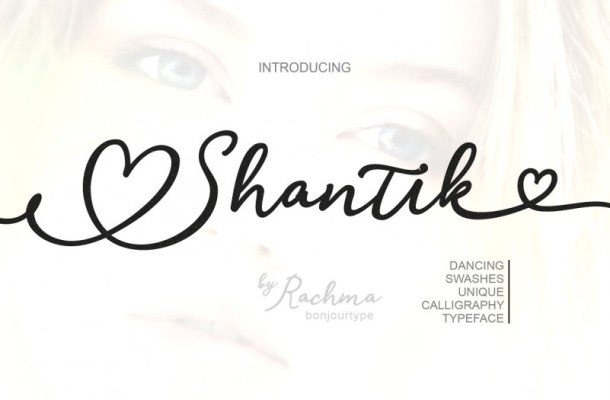 Shantik Script Font