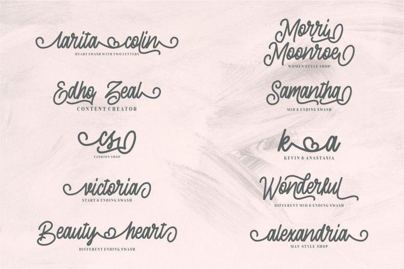 Sherly Shane Script Font-2