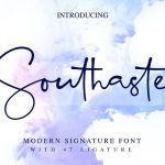 Southaste Signature Font