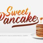 Sweet Pancake Script Font