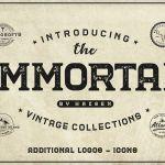The Immortal Vintage Font