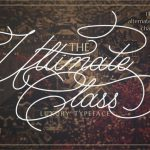 The Ultimate Class Script Font
