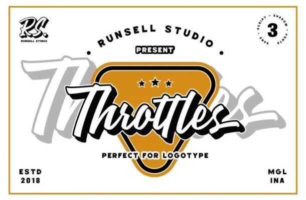 Throttles Logotype