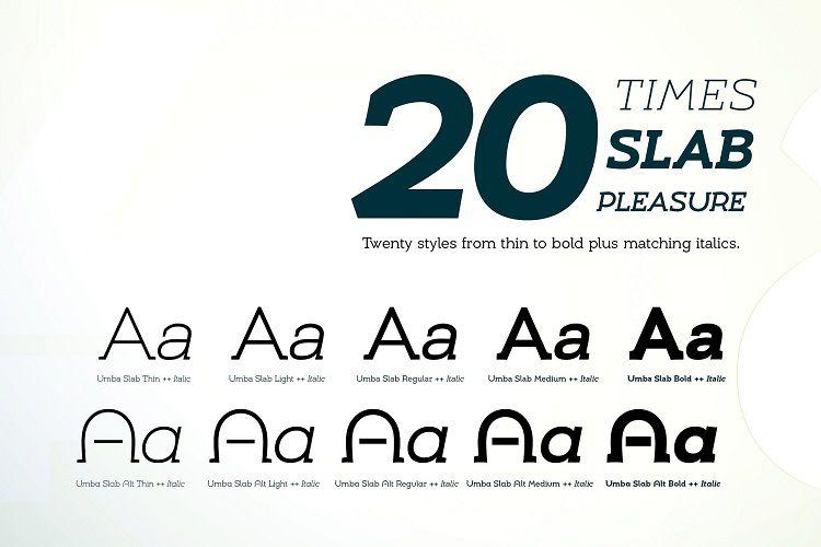 Umba Slab Font Family-2