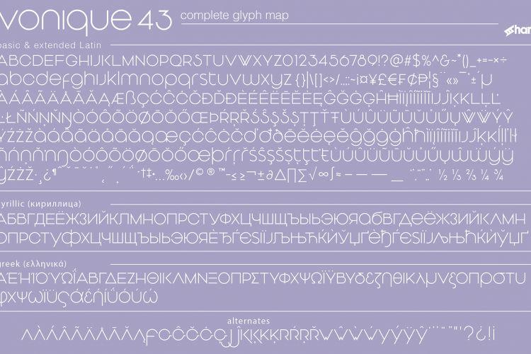 Vonique 43 Typeface-2