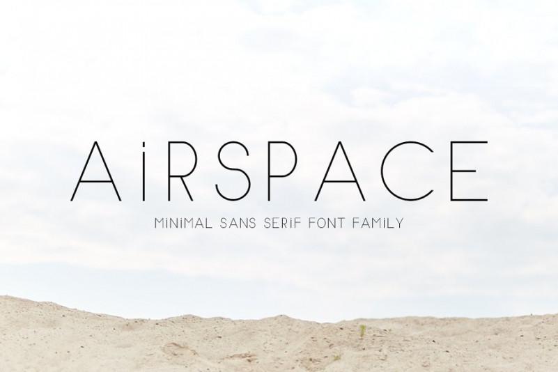 AIRSPACE Sans Serif Font