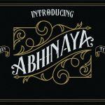 Abhinaya Typeface