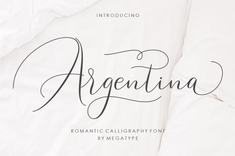 Argentina Script Font
