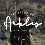 Arkley Script Font