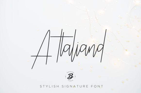 Attaliand Script Font