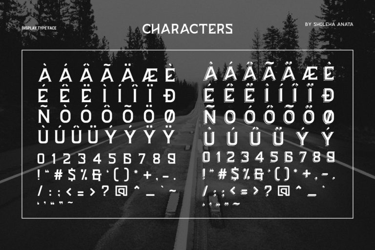 BAZERD Typeface-4