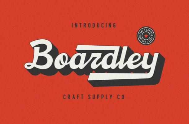 Boardley Script Font