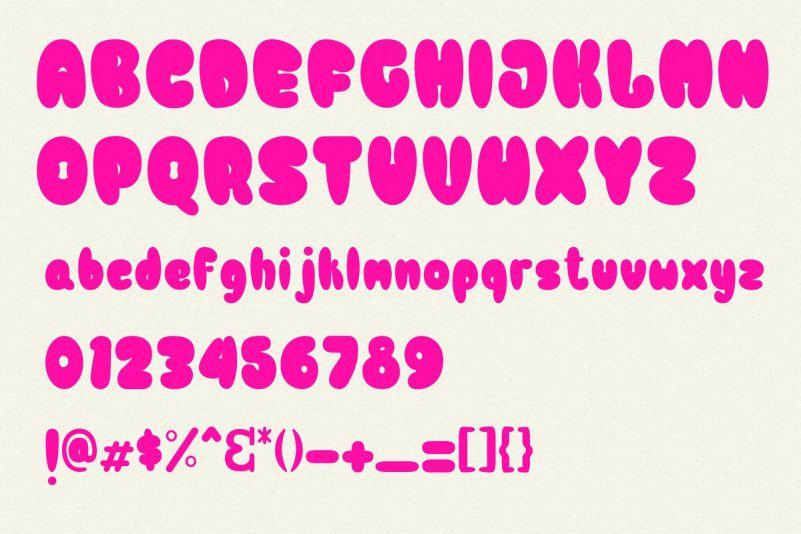Bulb Typeface-3