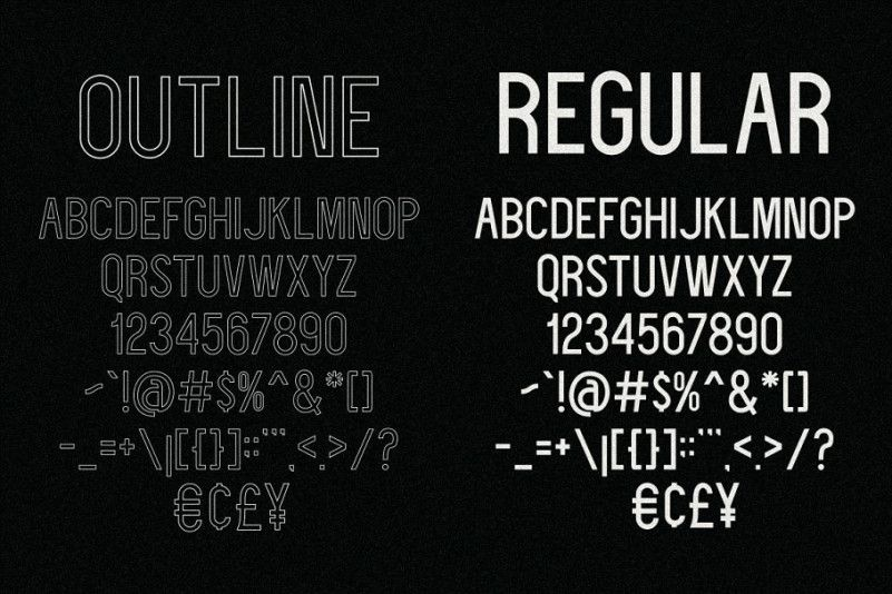 Deflagrate Font Family-2