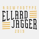 Ellard Jagger Display Font