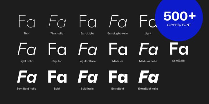 Faktum Font Family-2