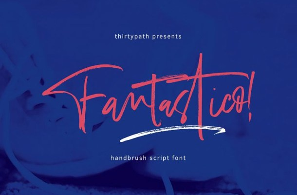 Fantastico Handbrush Font