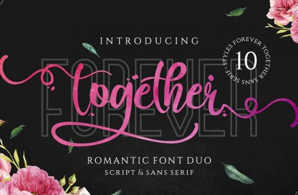 Forever Together Romantic Font