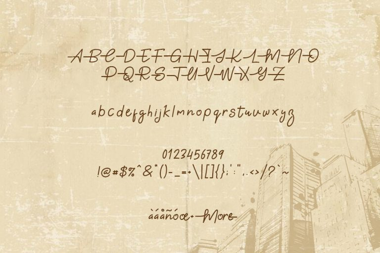 Gabuek Script Font-2