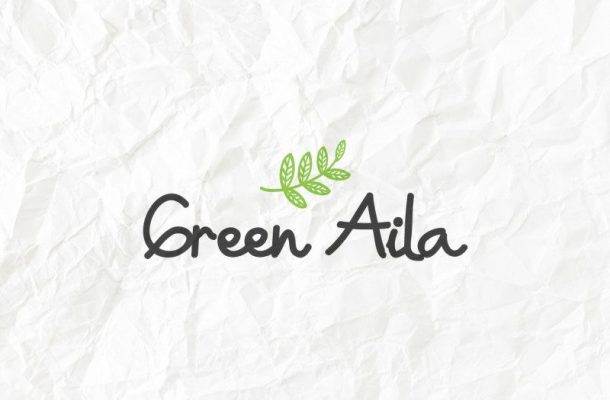 Green Aila Handwriting Font