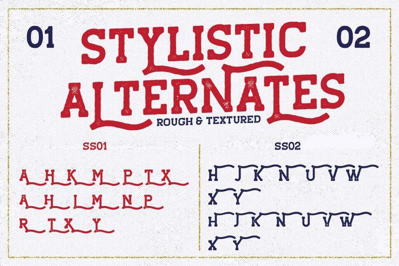 Hansel Slab Serif Font-3