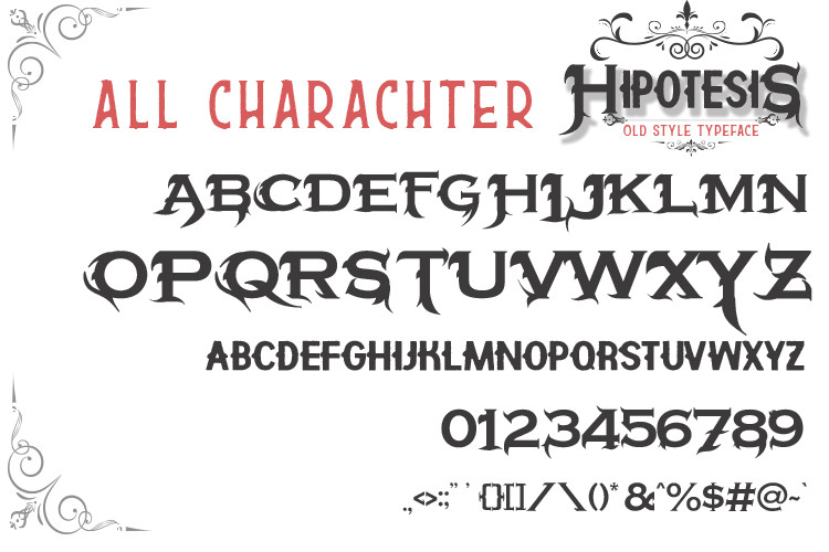 Hipotesis Old Style Typeface-4
