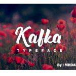 Kafka Script Font