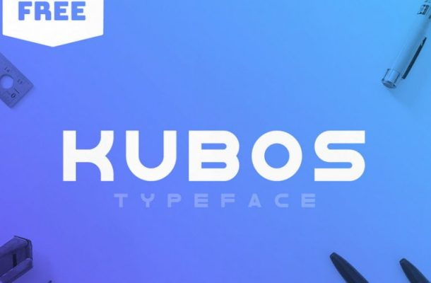 Kubos Typeface