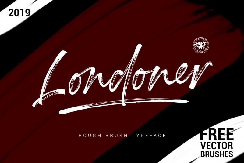 Download Londoner Brush Font - Dafont Free