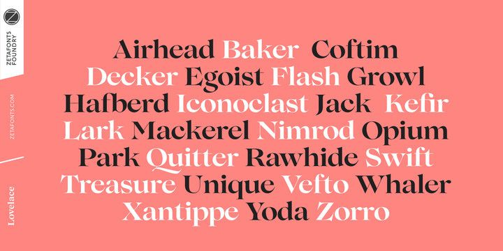 Lovelace Font Family-3