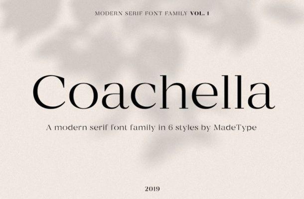 Made Coachella Font Family