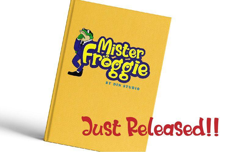 Mister Froggie Playful Font-2