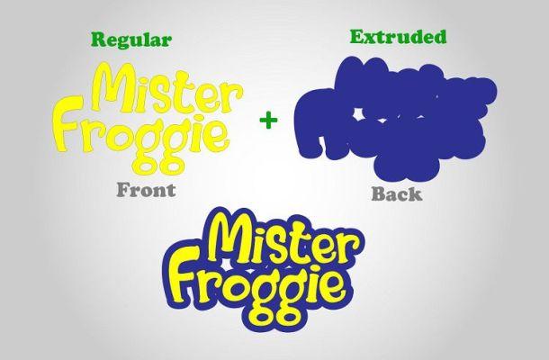 Mister Froggie Playful Font