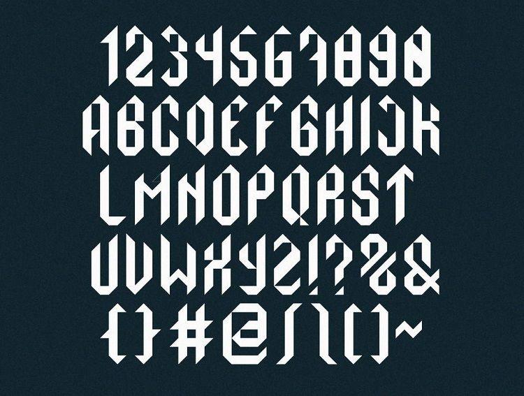 Monolith Typeface-2