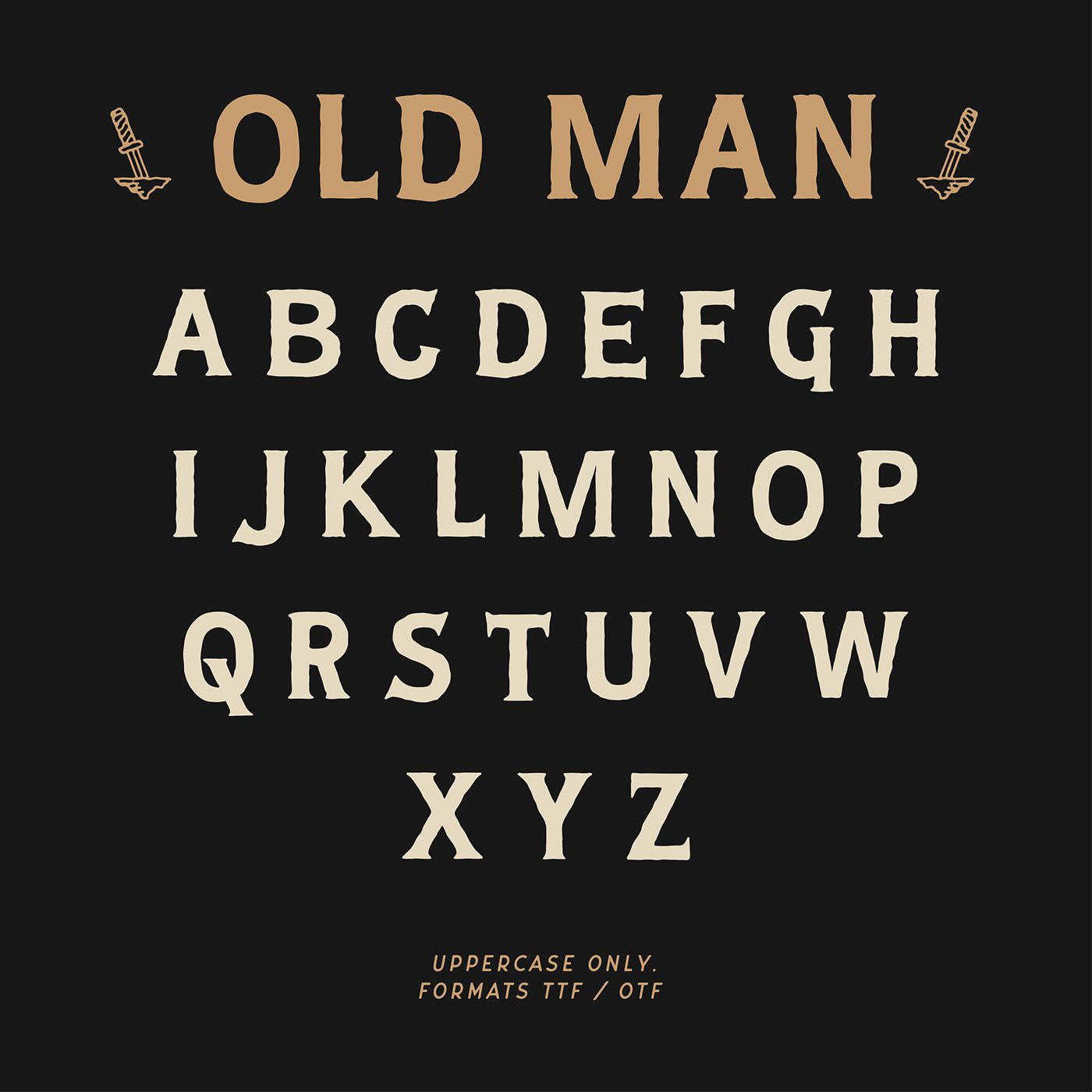 Old Man Typeface-2