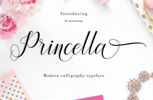 Princella Script Font