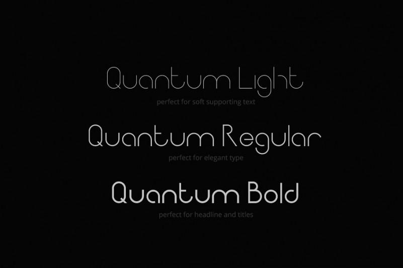 Quantum Sans Serif Font-2