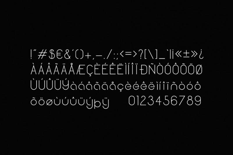 Quantum Sans Serif Font-3