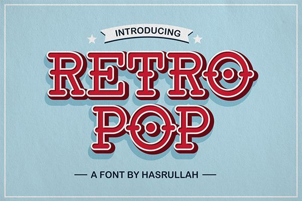 50+ Best Free Retro Fonts of 2019 - Dafont Free