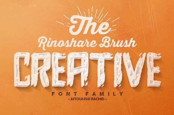 Rinoshare Font Family-2