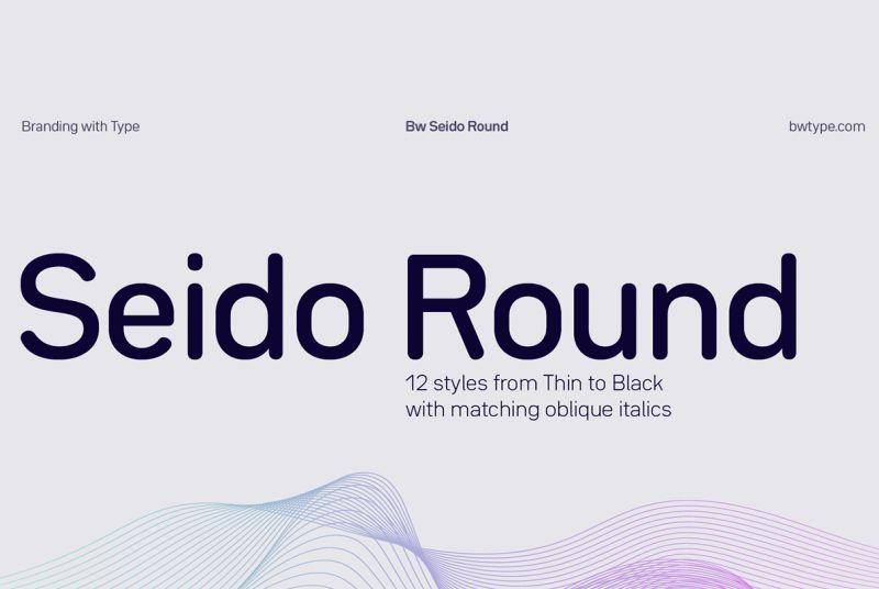 Seido Round Font Family - Dafont Free