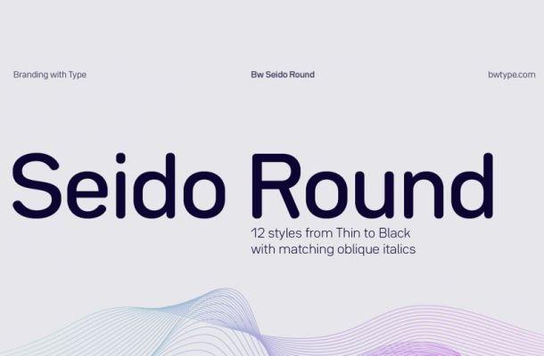 Seido Round Font Family