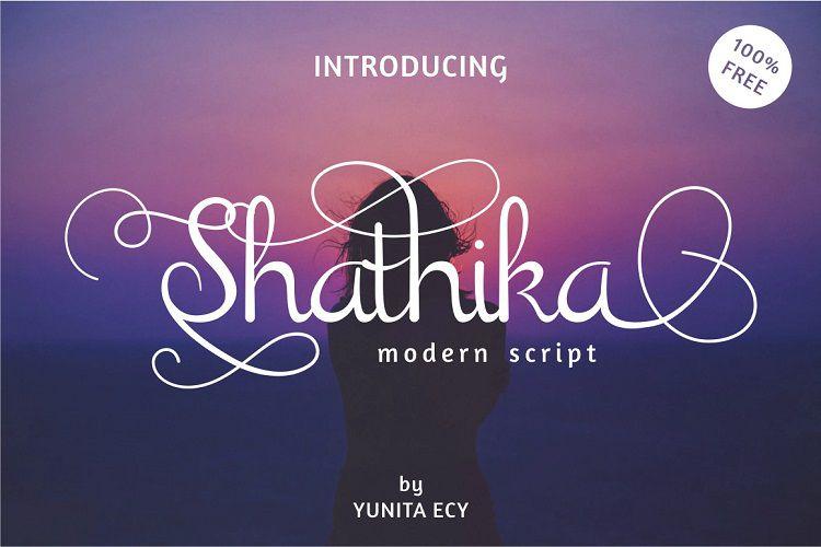Shathika Script Font-3