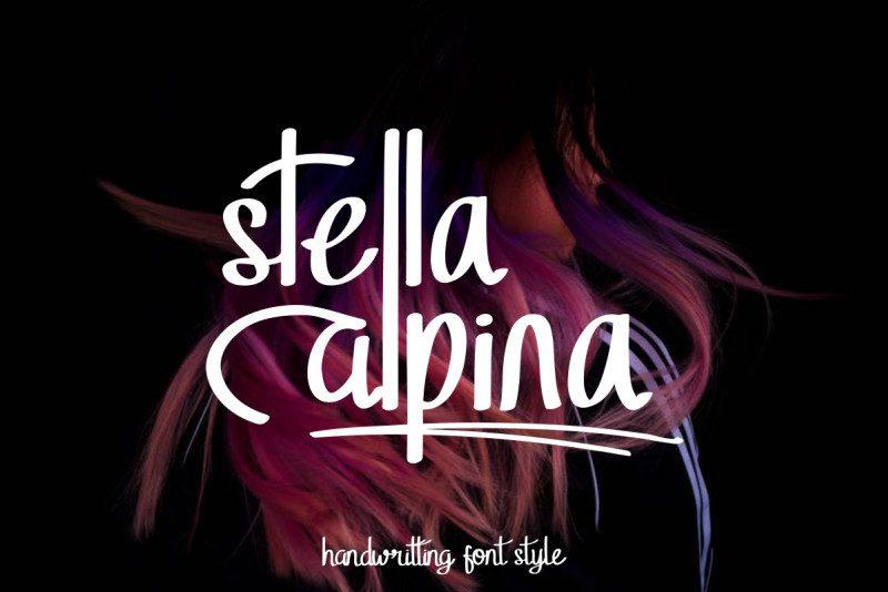 Stella Alpina Script Font