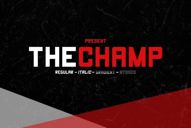 The Champ Font